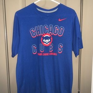 Nike Authentic Chicago Cubs Performance T-Shirt